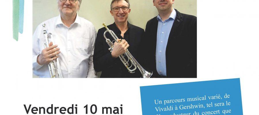 Affiche trompettes orgues 10.05.2019
