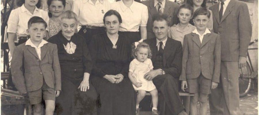 Famille Amand ZEDER 1948